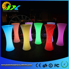 Portable Led Bar Table/Illuminated Led Casino Table/Classical Led Glowing Cocktail Table