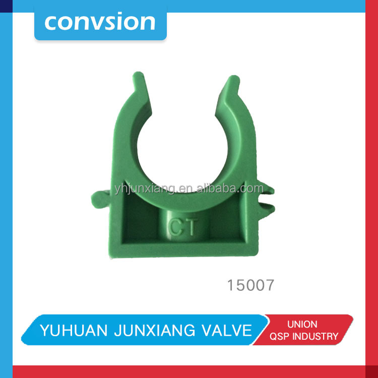 Convsion plastic Material PPR Pipe Fitting Saddle Clamp