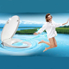 Automatic Self-clean U Shaped PP Wc Toilet Seat With Bidet