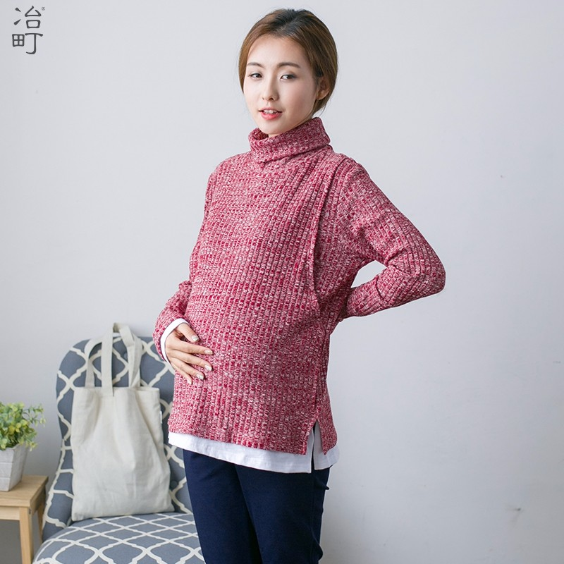 Factory store hoe sale soft discounted pregnant women sweater