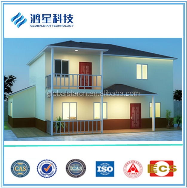 High Strength Prefabricated Steel Modular Villa building/Single story Modern House/Double story building