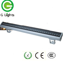high quality square IP65 outdoor 36w led wall washer light