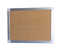 hot sell wall hanging wholesale soft cork board for school