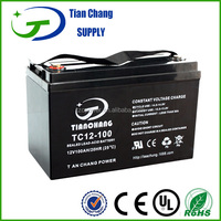 professional manufacturing12v 100Ah Lead Acid UPS LED Light Battery