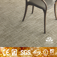 Anti-slip waterproof carpet tiles