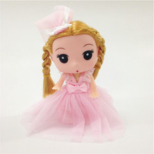 Wholesale Educational toy funny plastic princess doll dolls dress up game