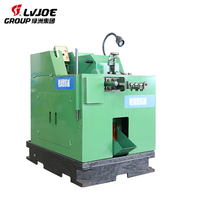 High speed automatic high capacity cold heading and thread rolling machine for screw making