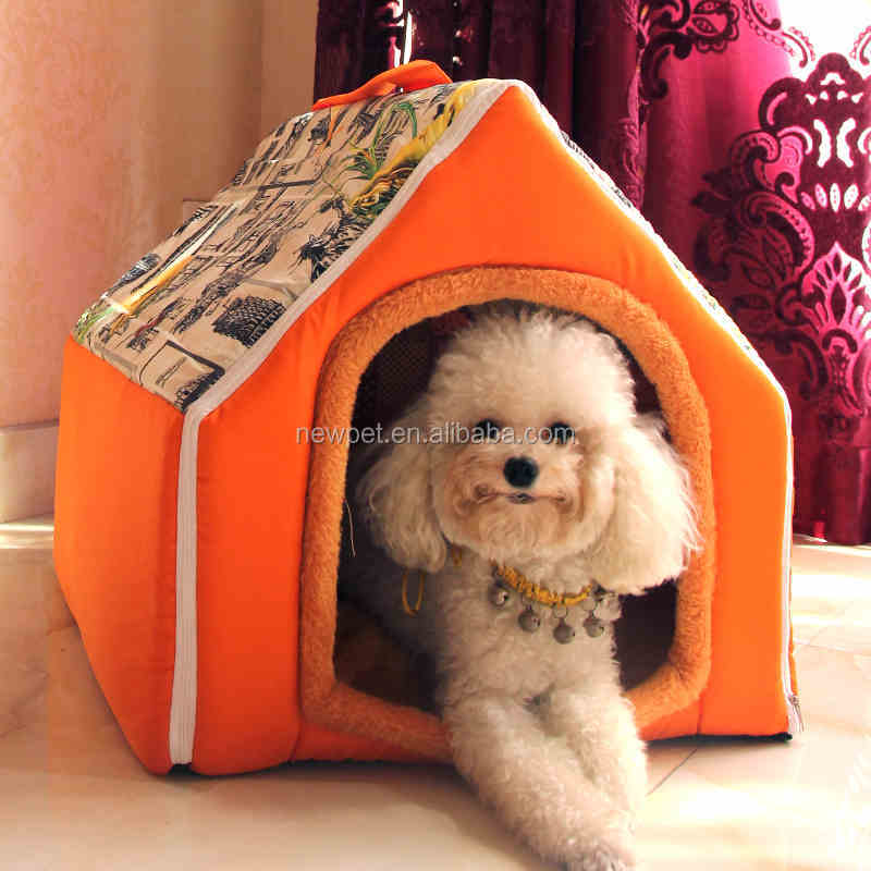 2016 hot sale new design soft custom indoor triangle dog houses