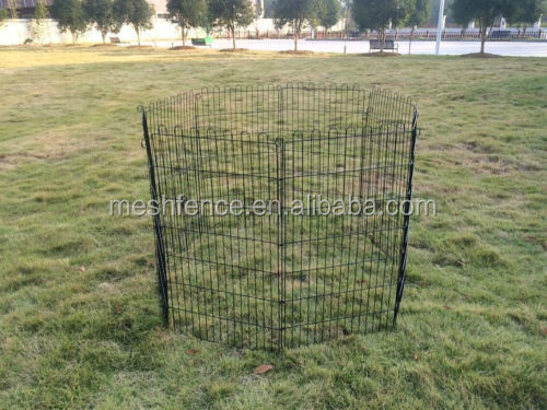 "42"" 8 panel Pet Dog Cat Exercise Pen Playpen Fence Yard Kennel Portable"