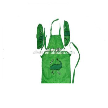Kid Polyster custom print for dollar store painting promotion apron