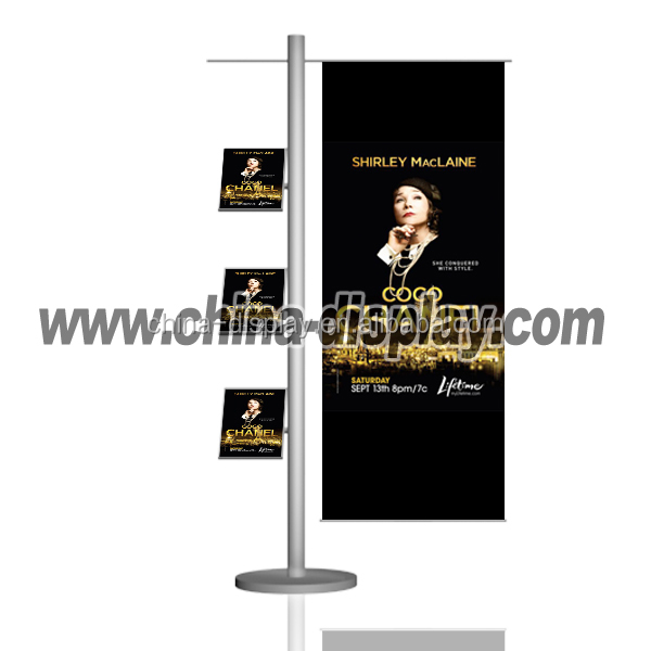 strong and durable folding poster stand a4/ a3/ a2 poster display stand