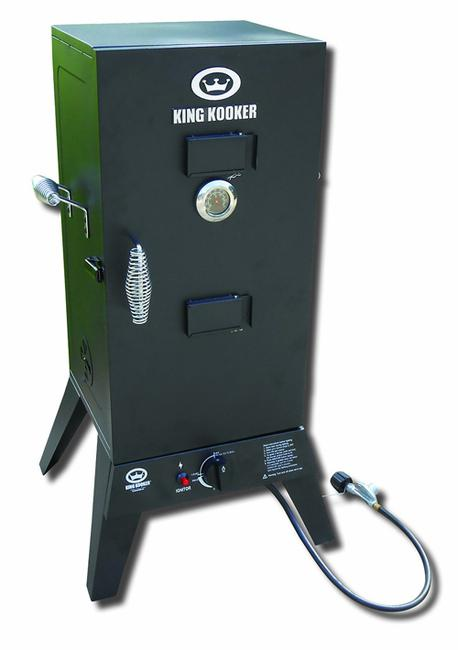 30inch Powder Coated Gas BBQ Grill Smoker on sale