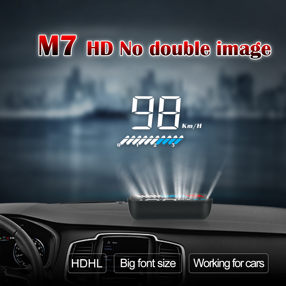New Arrival 2019 <strong>A100s</strong> Car Accessories Electronics HUD OBD2 OBD II GPS DUAL System Head Up Display RPM Speed Alarm