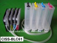 (CISS-BLC61) CISS ink tank continuous ink supply system for Brother MFC 930CDWN 5490CN 5890CN 6190CN 6490CW