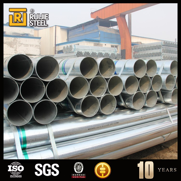 schedule 40 schedule 80 HDG galvanized steel pipe manufacturer