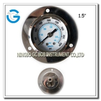 High quality flange type dry pressure gauge