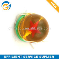 Wholesale 27mm Clear Bouncy Ball with Handle for Kids