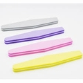 Sponge nail file of abrasive nail file