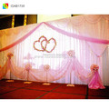 ice silk church backdrop curtain swag decor