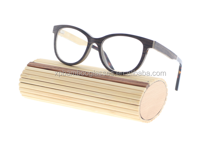 Latest Model Handmade Cat Eye Design Ladies Wooden Spectacles Frame
