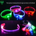 Logo Engraved World Cup Music Beat Led Bracelets