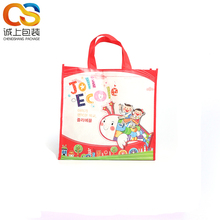 Promotional printed pp nonwoven polypropylene cartoon carry bag for shopping