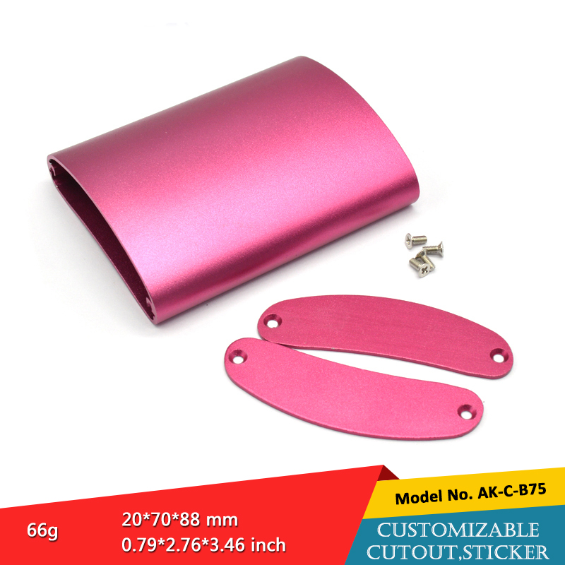 aluminum electronic device enclosure aluminum profile distribution casing for electronic components