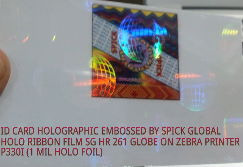 ID Card Holographic overlay,foils,ribbons,laminations