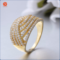 Latest Gold Finger Rings Designs for Women Jewelry Wholesale China