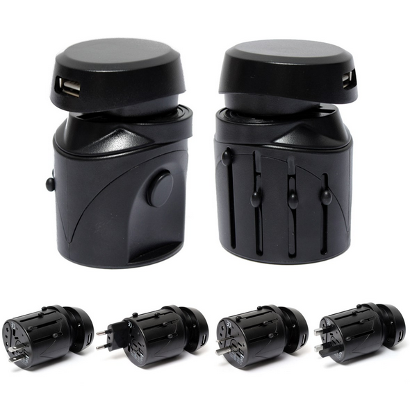 New Arrival Top Good selling Approval CE ROSH Travel Converter Universal to Usa Travel Adapter