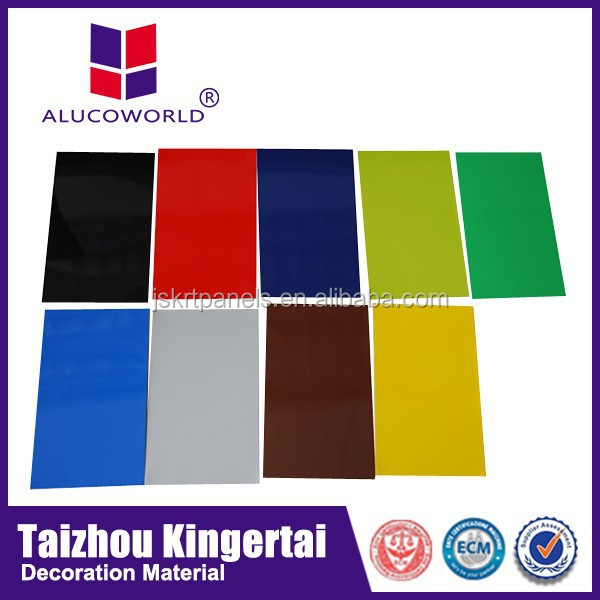 Alucoworld good quality containers house construction wall curtain wall cladding systems aluminium composite