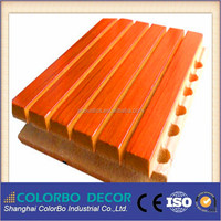ECO-friendly The Grade Wall--WPC/Wood Plastic Composite Wooden Acoustic Wall Panel