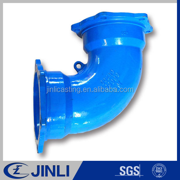 OEM Grey iron & ductile iron cast Factory price Grooved Tee and iron pipe fittings
