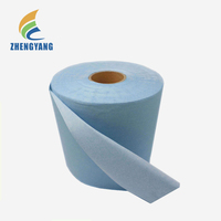 Factory Stock Woodpulp and PET Spunlace Nonwoven Fabric For Wet Wipes