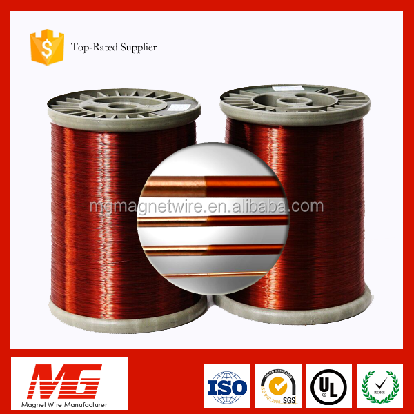 UL Certificate round copper colour enameled wire