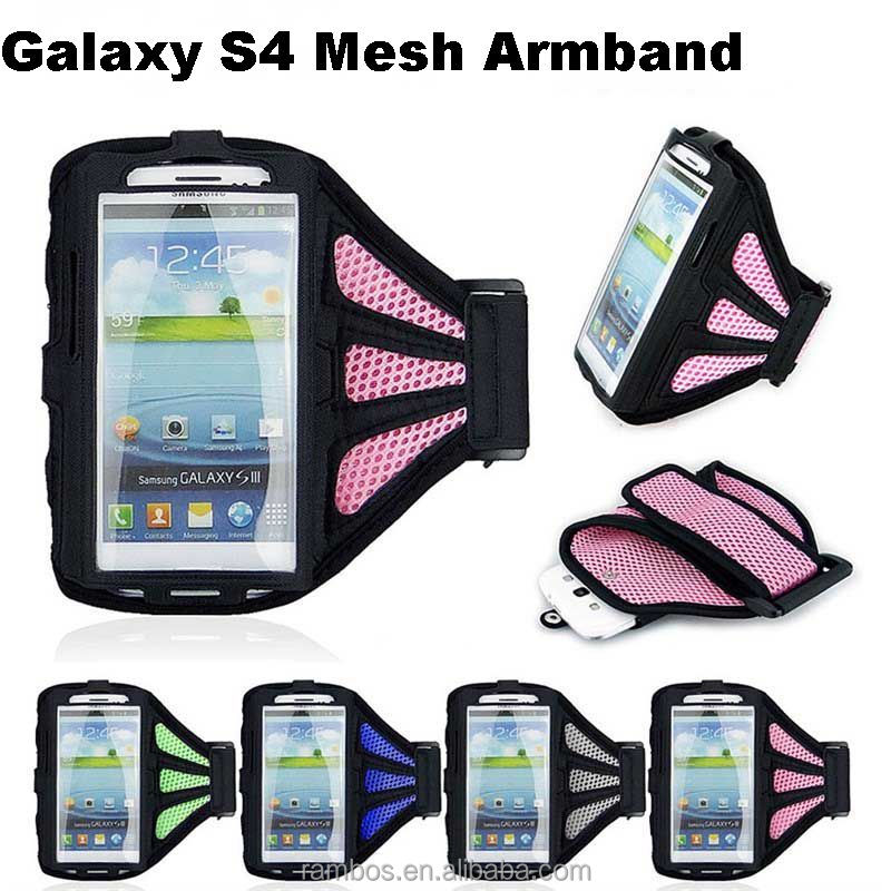 New Soft Belt Sport Gym Running Armband Case Pouch Cover Phone Arm Band Bag for Samsung Galaxy S3 S4