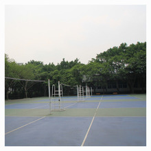 synthetic outdoor and indoor spu flooring basketball court volleyball court