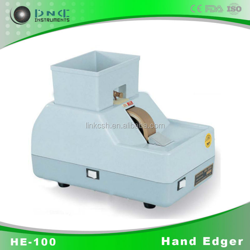 Best quality hand lens edger HE-100 optical instruments