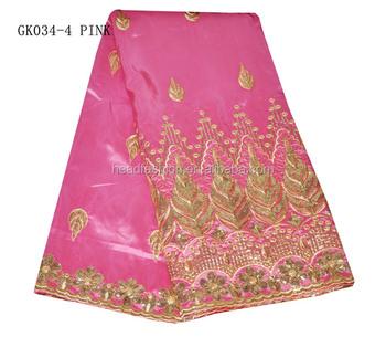 African Raw Silk George Fabric Top Sale