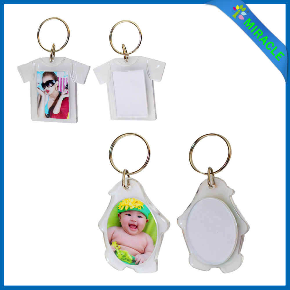 Promotion custom acrylic keychain wholesale