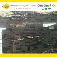 Cosmic black marble stone for marble counter