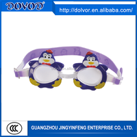 Excellent performance silicone goggle swimming equipment adult wide view swim goggles
