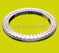 External gear slewing bearing for steel mill crane