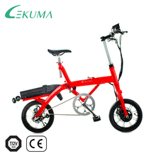 "14"" front motor hot sale high quality brushless motor folding electric bike"