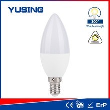 5W LED Bulb Parts C37 LED Lamp E14 LED Candle Lamp E14 Dimmable