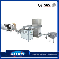 PLC Controlled Full Automatic Wafer Biscuit
