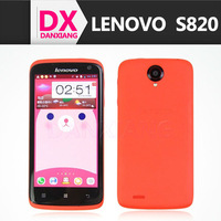 MTK6589 Quad core 1.2GHz Android 4.2 OS WIFI GPS 13.0MP Dual SIM Lady 4.7 inch lenovo s820 smartphone
