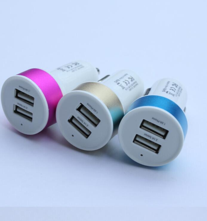 Factory Price Car Battery Charger,High Efficiency Dual USB Car Charger