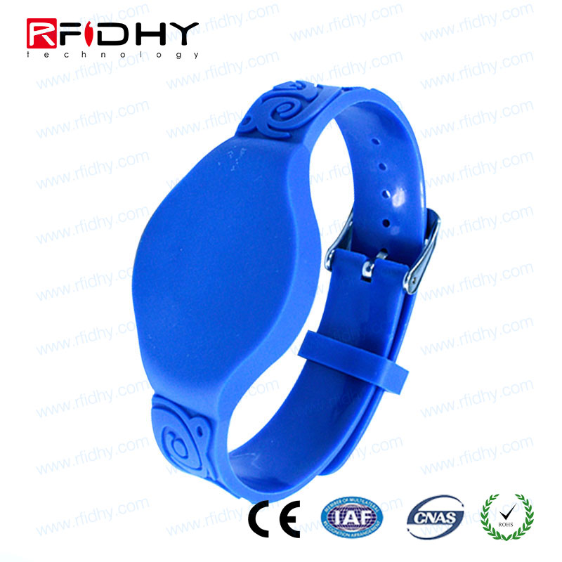 For People Management Printable Colorful Passive Cheap Silicone Bracelet,RFID UHF silicone Wristband