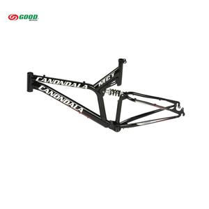 Bicycle suspension frame